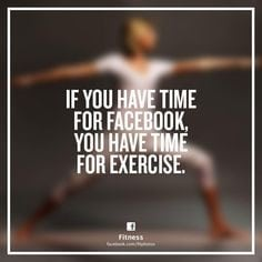 Facebook and Workouts
