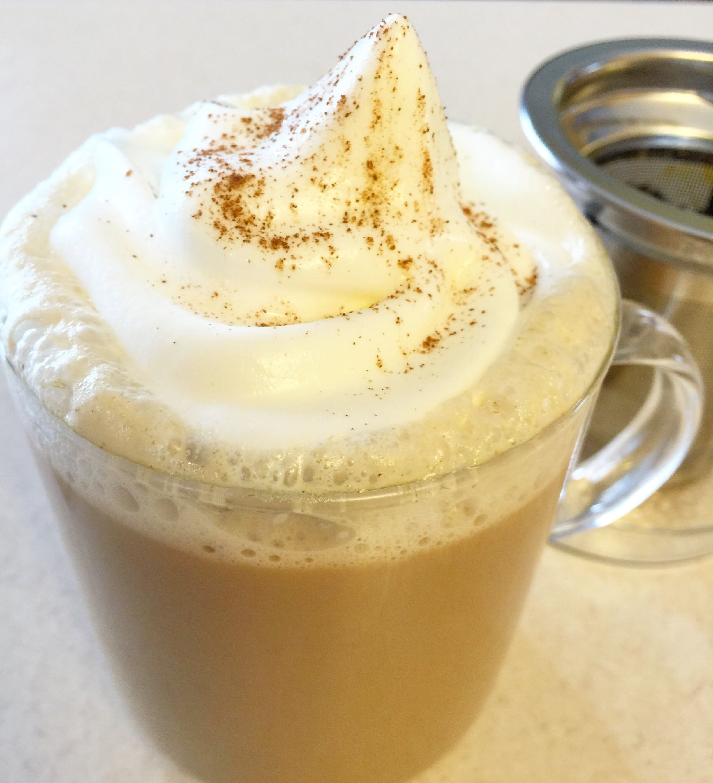 Tea Infuser Mug Review Plus Brioche Tea Latte Recipe