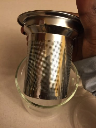 American Tea Room Mug Basket