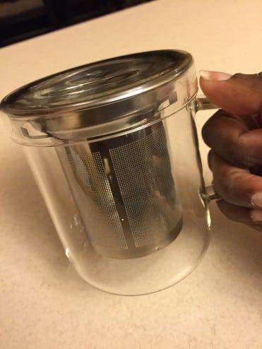 American Tea Room Tea Infuser Mug