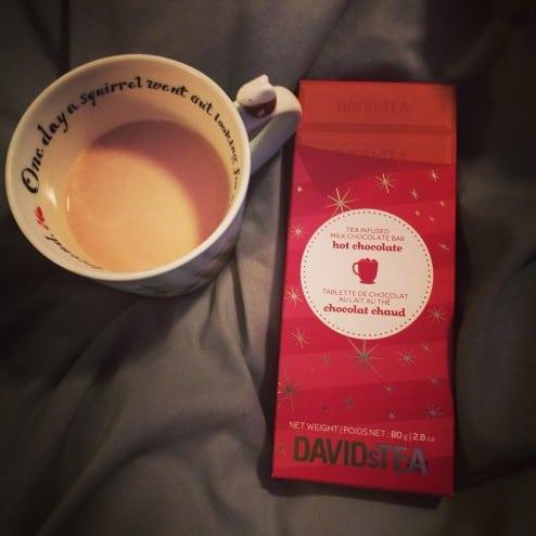 Davids Tea Hot Chocolate