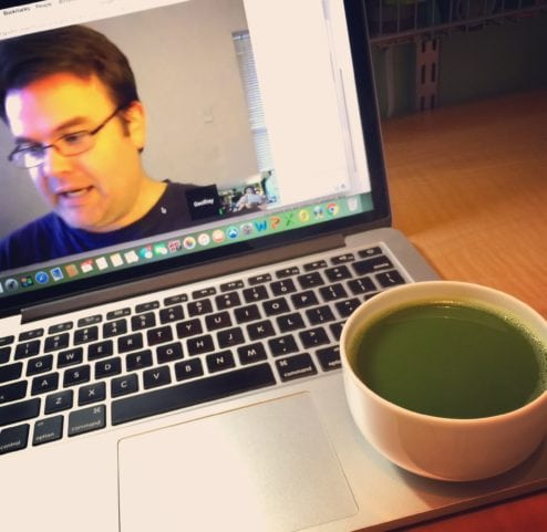 Mizuba Matcha with Geoff