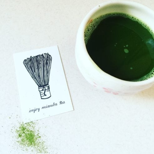 Tea Mizuba Matcha